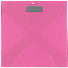 Весы напольные Saturn ST-PS0294 розовый