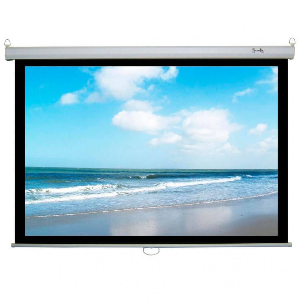 """Экран для проектора механический Mr.Pixel 80"""" X 80"""" (2,03 X 2,03)"""
