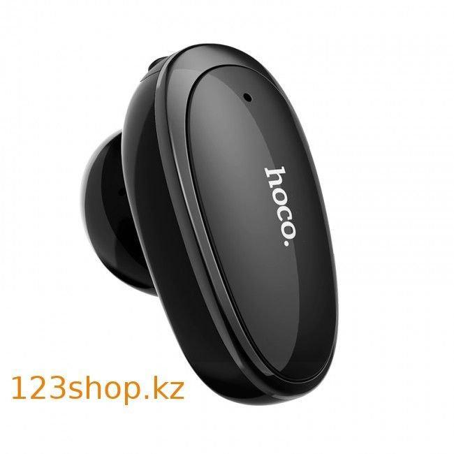 Bluetooth гарнитура Hoco E46 Voice business Black