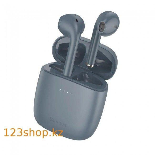 Bluetooth наушники Baseus Encok TWS W04 Pro Grey