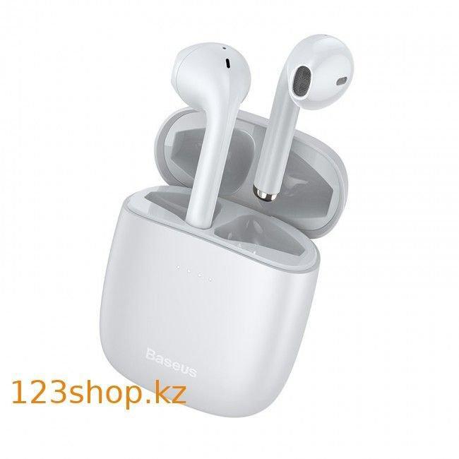 Bluetooth наушники Baseus Encok TWS W04 Pro White