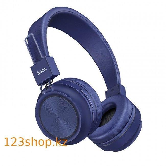 Bluetooth наушники Hoco W25 Promise Blue