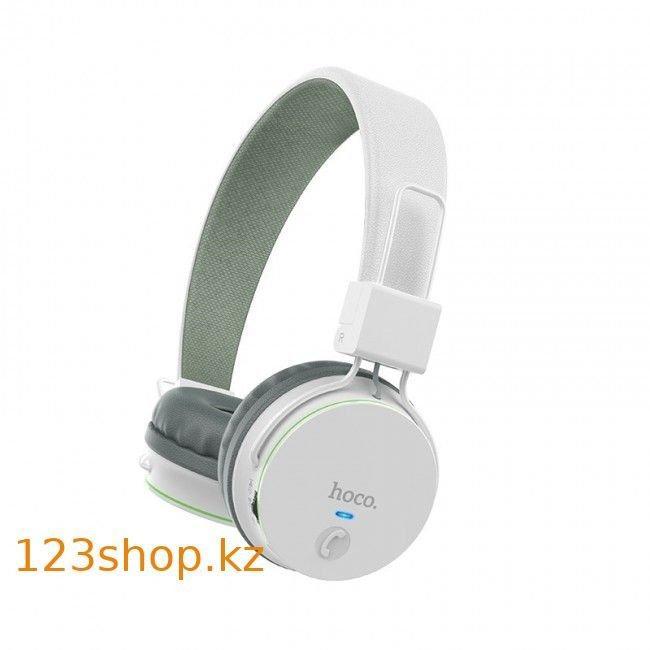 Беспроводные Bluetooth наушники Hoco W19 Easy move White