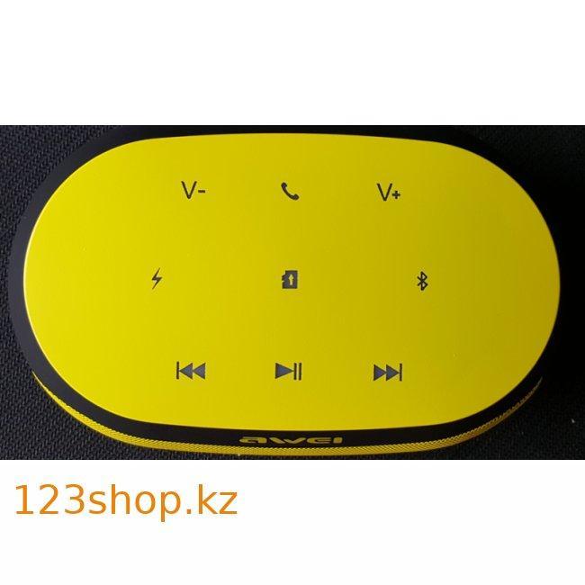 Портативная акустика Awei Y200 Yellow - фото 2