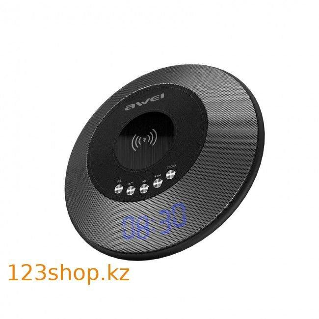 Колонка Awei Y290 Bluetooth with wireless charger Black