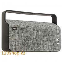 Портативная колонка Hoco BS10 Dibu Deskop Wireless Gray
