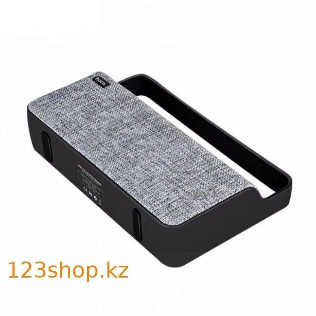 Портативная колонка Hoco BS10 Dibu Deskop Wireless Gray - фото 2