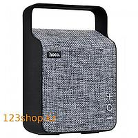 Портативная колонка Hoco BS6 NuoBu desktop Bluetooth speaker Gray, фото 1