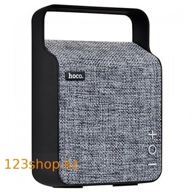 Портативная колонка Hoco BS6 NuoBu desktop Bluetooth speaker Gray - фото 1