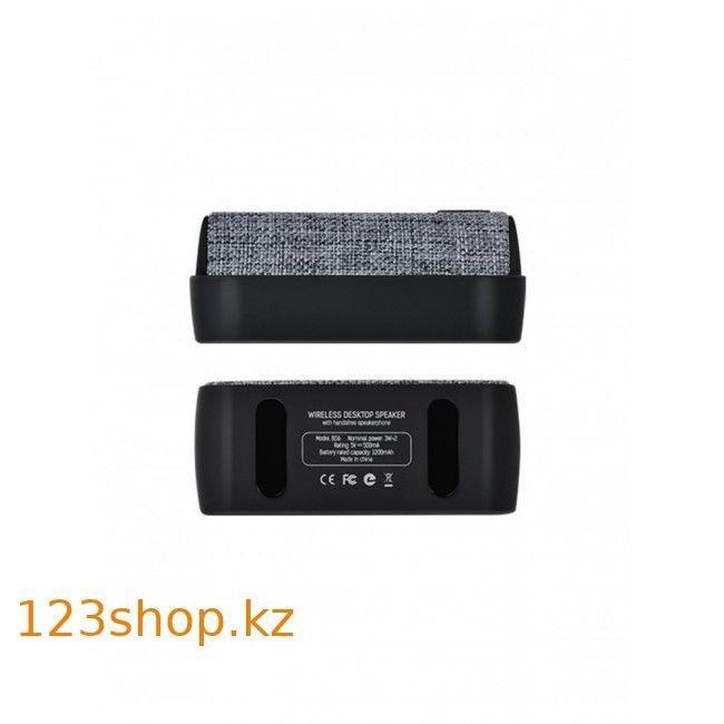 Портативная колонка Hoco BS6 NuoBu desktop Bluetooth speaker Gray - фото 3