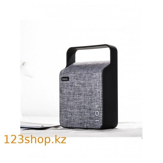 Портативная колонка Hoco BS6 NuoBu desktop Bluetooth speaker Gray - фото 4