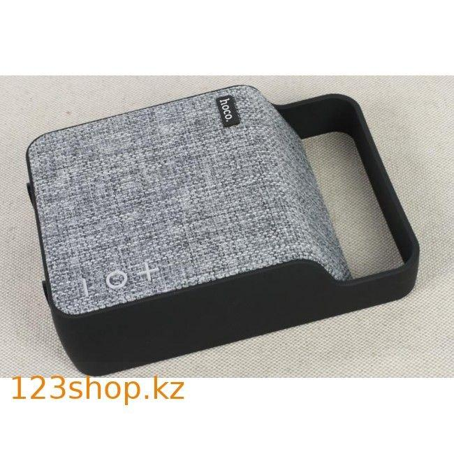 Портативная колонка Hoco BS6 NuoBu desktop Bluetooth speaker Gray - фото 5