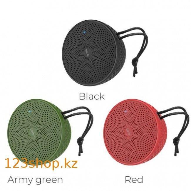 Портативная колонка Hoco BS21 Atom Army Green - фото 4
