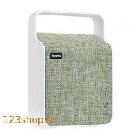 Портативная колонка Hoco BS6 NuoBu desktop Bluetooth speaker Green