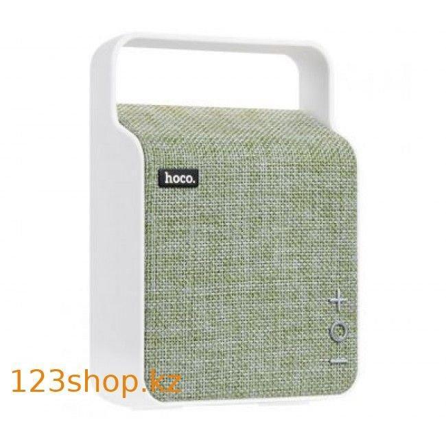 Портативная колонка Hoco BS6 NuoBu desktop Bluetooth speaker Green - фото 1