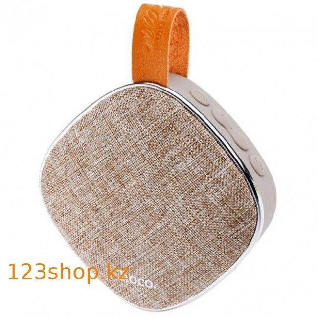 Портативная колонка Hoco BS9 Bluetooth Speaker Brown