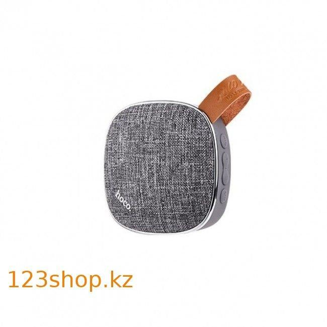 Портативная колонка Hoco BS9 Bluetooth Speaker Gray