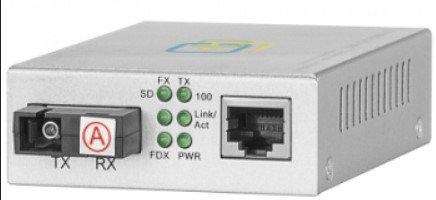 Медиаконвертер 10/100-Base-T / 100Base-FX, Tx/Rx: 1310/1550нм, V2, фото 2