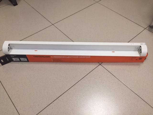 Светильник для бактерицидной лампы