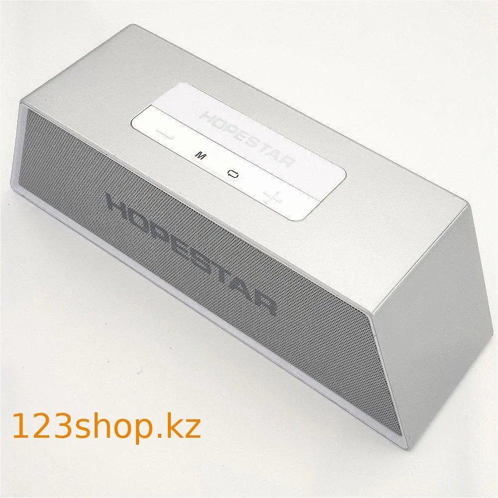 Моб.Колонка SPS Hopestar H28 Серебро
