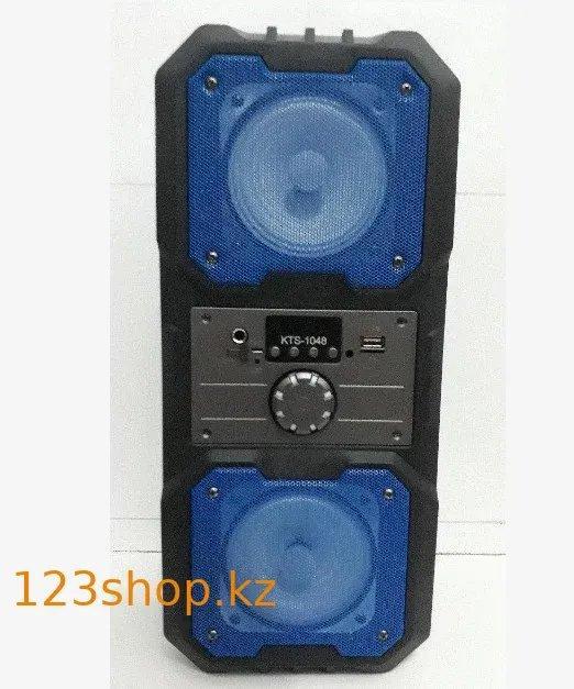 Портативная Bluetooth колонка с пультом KTS-1048