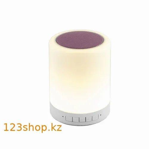 Портативная колонка Bluetooth S-66 Touch sound lamp + сенсорный светильник