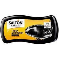 Salton Губка для обуви Волна, для гладкой кожи, черная.