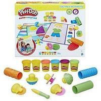 Hasbro Play-Doh Игровой набор Play-Doh, текстуры и инструменты.