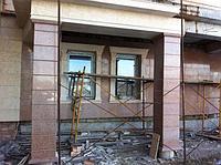 Эксклюзивная отделка фасада мрамором