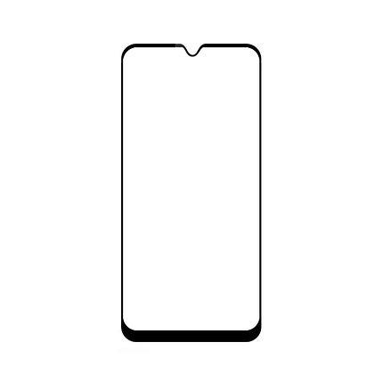 Защитное стекло Samsung A71 2020, Samsung A715 2020 Окантовка Black A-Case, фото 2
