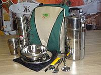 Набор посуды, портфель на 4 персоны с контейнером