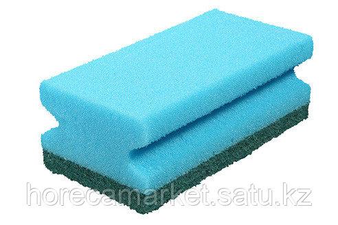 Губка для клининга Фреза 130х70х45 (8шт) синяя