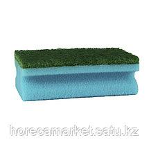 Губка для клининга Фреза 130х70х45 (8шт) синяя, фото 2