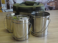 Набор посуды, сумка Турист с котелками, фото 1