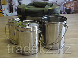 Набор туристической посуды, сумка Турист с котелками