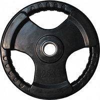 Диск олимпийский на штангу 25 кг