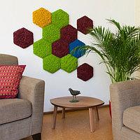 Элемент декора - панель из мха