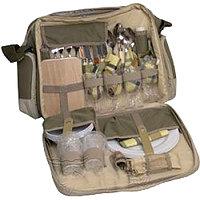 Набор посуды, сумка для пикника ТОНАР HELIOS СКАУТ HB4-526