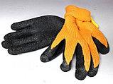 Перчатки рабочие облитые резиной #300, фото 2