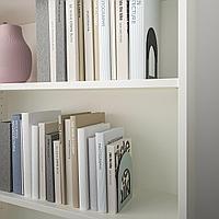 БОТТНА Ограничитель для книг, светлый серо-зеленый, антрацит, фото 1