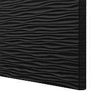 ЛАКСВИКЕН Дверь, черный, 60x64 см