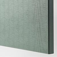 НОТВИКЕН Дверь, серо-зеленый, 60x64 см