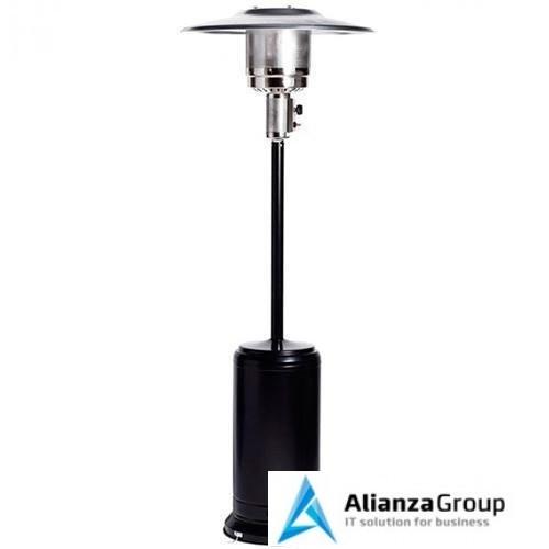 Газовый уличный обогреватель мощностью 13-14 кВт Мастер Лето МЛ-1 (Черный)