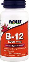 Витамины B-12 5000 mcg + Folic, 60 loz.