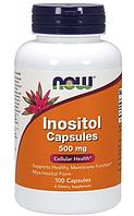 Специальные Добавки Inositol 500 mg, 100 caps.