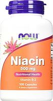 Специальные Добавки Niacin 500 mg, 100 caps.
