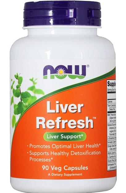 Специальные Добавки  Liver Refresh, 180 caps.