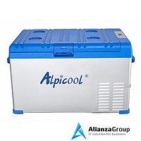 Компрессорный холодильник для автомобиля Alpicool A30 (30 л.) 12-24-220В синий