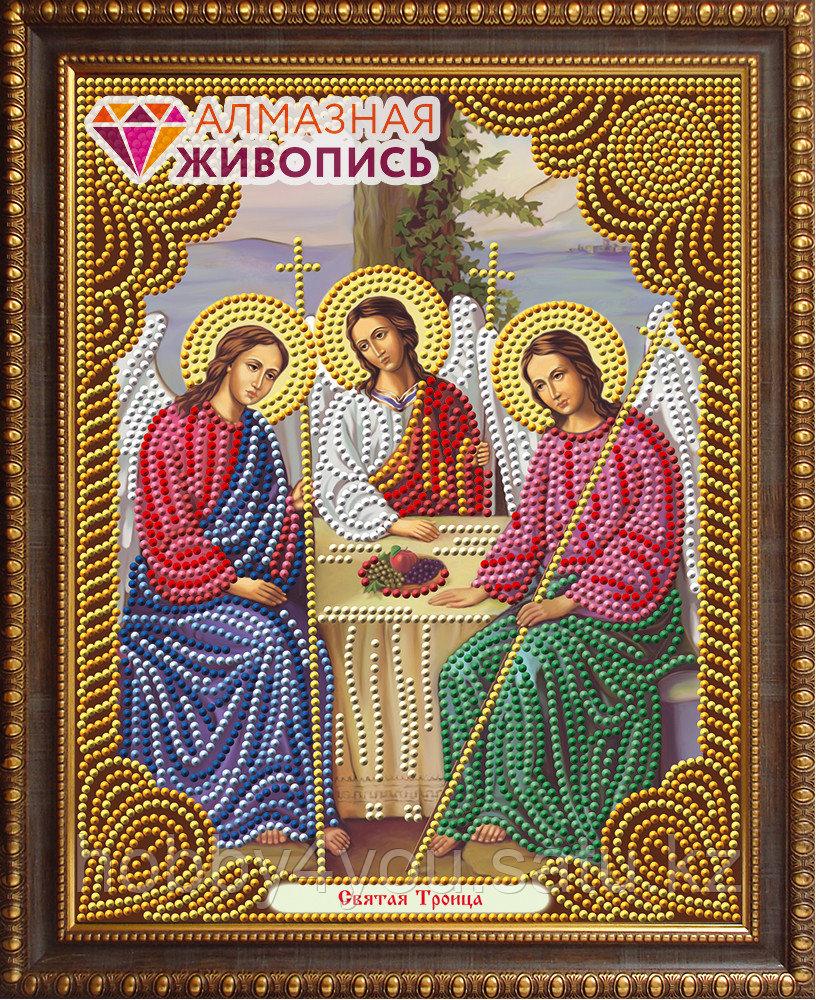 """Картина стразами """"Икона Святая Троица"""", 22*28см"""