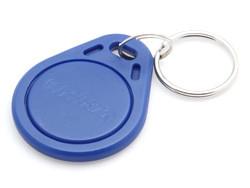 Брелок Em-Marine пластиковый с номером (Синий)